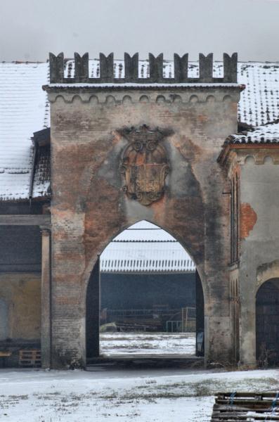 Torre neogotica di Cascina Grande